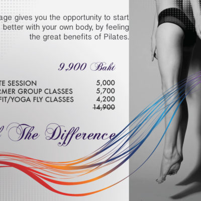 Feel the difference special promotion package Pilates at the Pilates Station Bangkok